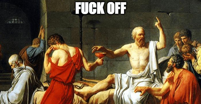 « L'important n'est pas de vivre mais de vivre bien» Socrate