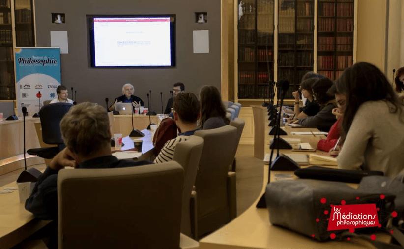 « Les Médiations Philosophiques sont l'occasion de transgresser les normes philosophico-universitaires. » – Lucie Boël et Maëva Chauvin