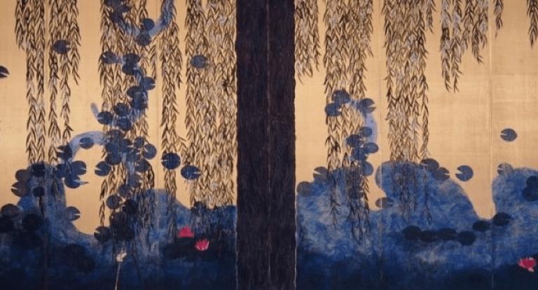 peinture nihonga de Hiramatsu Reiji
